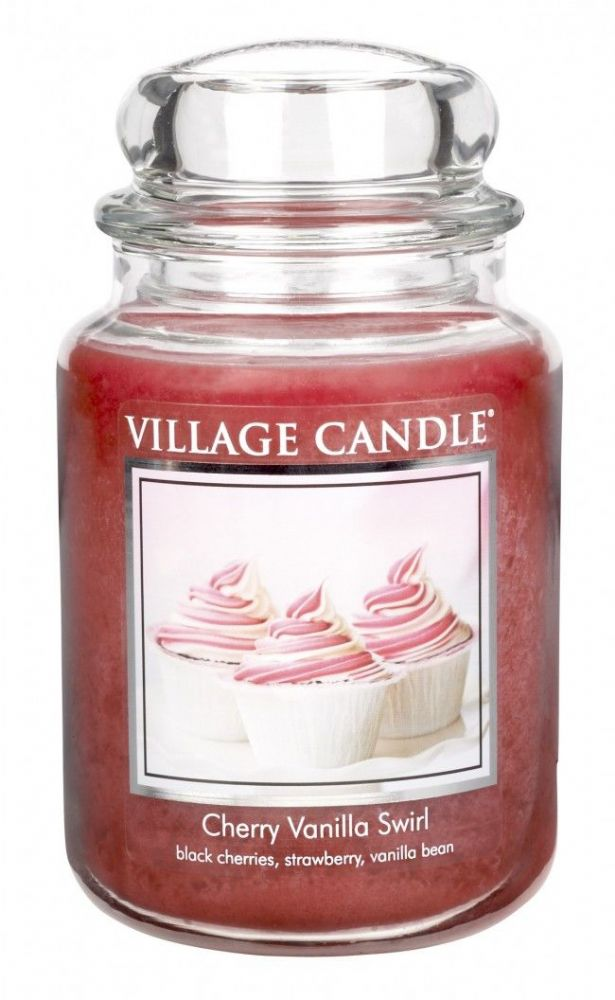 Village Candle Cherry Vanilla Swirl (Select Size)
